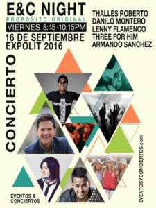 eventos y conciertos