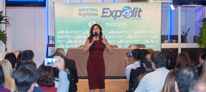 Con rotundo éxito se realizó el lanzamiento de Expolit 2017, para la prensa Argentina