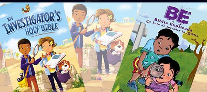 La Biblia de estudio para niños que trasciende la barrera del idioma