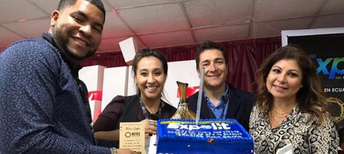 Realizan con éxito la presentación de Expolit en Ecuador