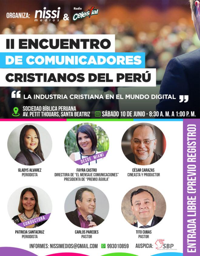 II Encuentro de Comunicadores - Peru