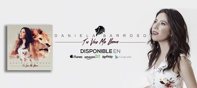 Daniela Barroso presentará en Premio Águila su nuevo proyecto musical «Tu voz me llama»