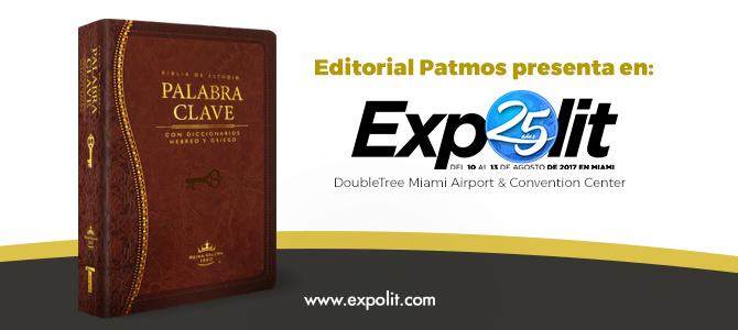 Editorial Patmos presenta en Expolit «La Biblia Palabra Clave» y realizará dos talleres para pastores y maestros de escuela dominical