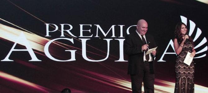 Samara armó una gran «Fiesta» en la gala de Premio Águila