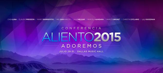 Marco Barrientos invita a la «Conferencia Aliento 2015», una atmósfera de sanidad para el alma y cuerpo