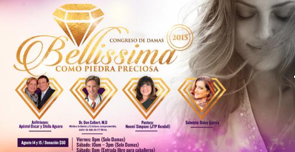 Regresa a Miami el «Congreso de Damas Bellissima, como piedra preciosa»