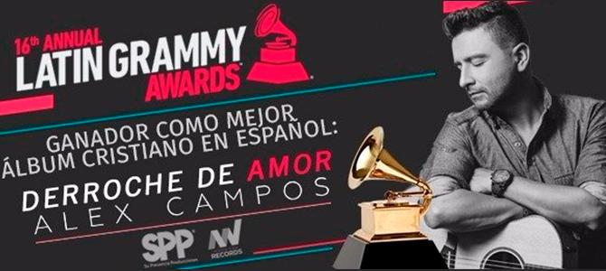 Alex Campos gana el Latin GRAMMY por tercera vez