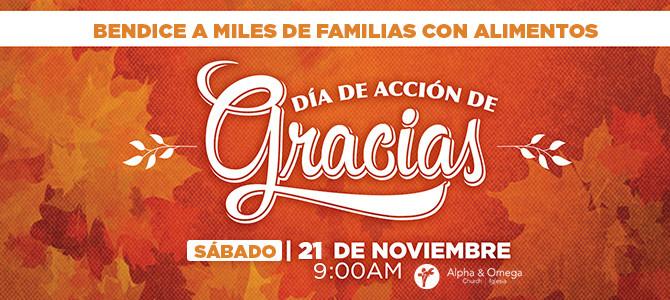 La Iglesia Alpha & Omega se une a la Fundación Rema para bendecir a miles de familias para la celebración del Día de Acción de Gracias