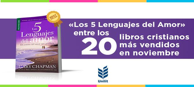 Los 5 lenguajes del amor entra en la lista de los libros más vendidos