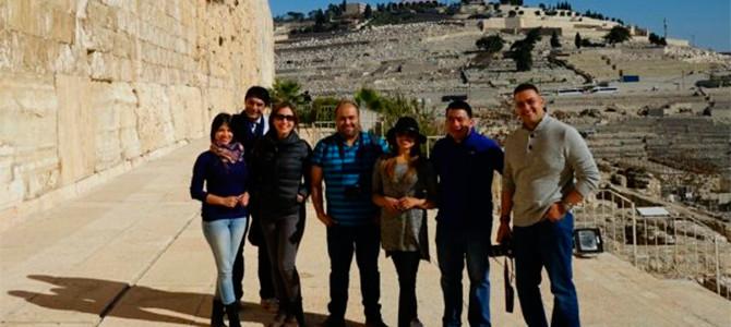 Fuente Latina organiza el primer tour a Israel con periodistas cristianos