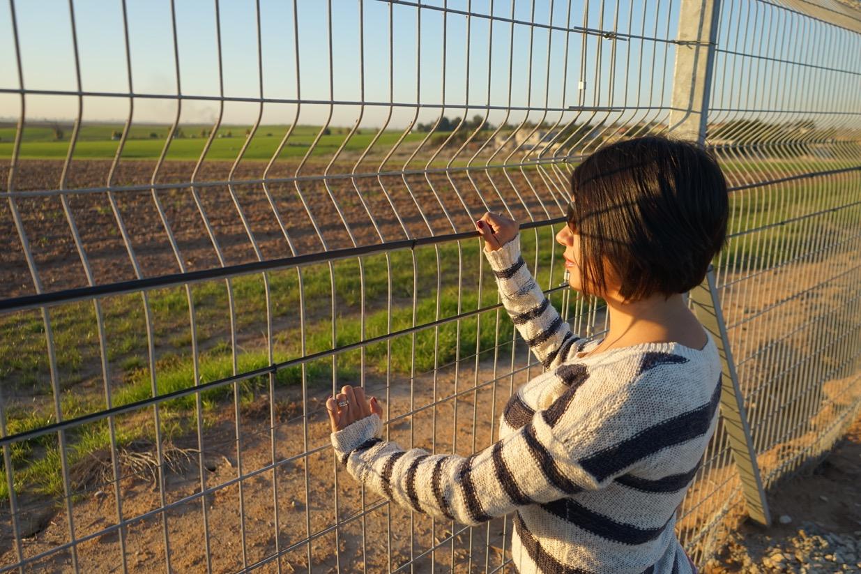 Kibutz en la frontera con Gaza