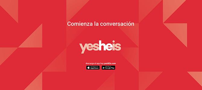 yesHEis va solo como aplicación en 2016
