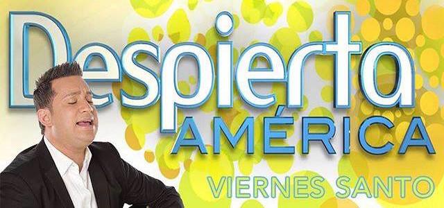 Samuel Hernández invitado especial en Despierta América este Viernes Santo
