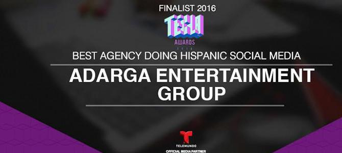 Adarga Entertainment Group finalista a los Tecla Awards