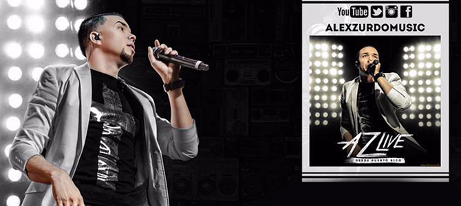 Alex Zurdo presenta su nuevo proyecto musical «AZ Live»