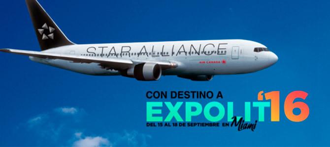 Expolit, en alianza con importantes aerolíneas, anuncia descuentos especiales en boletos aéreos