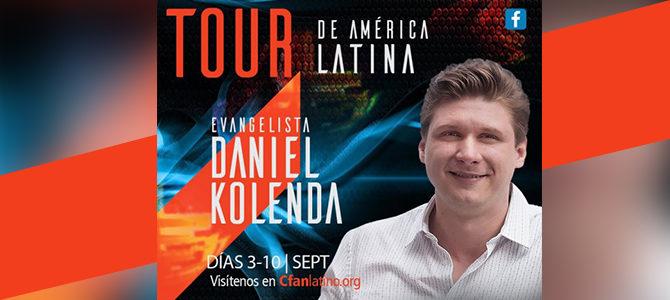 TOUR de América Latina con el evangelista Daniel Kolenda