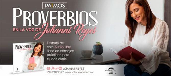 Johanni Reyes lanza audiolibro del libro de Los Proverbios