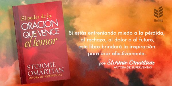 Stormie Omartian presenta su  nuevo libro  «El poder de la oración que vence el temor»