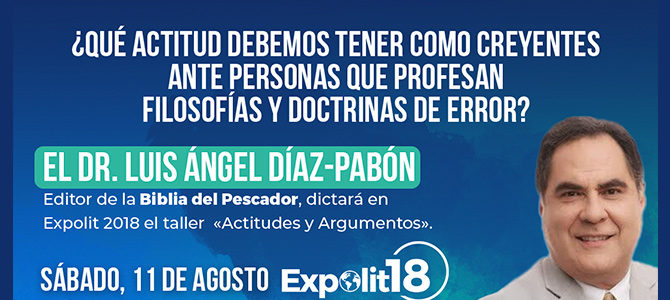 «Actitudes y Argumentos» con el Dr. Luis Ángel Díaz-Pabón