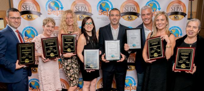 Unilit fue galardonada con 7 Premios SEPA