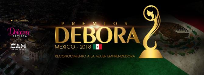 Lanzamiento de losPremios Deboraen México