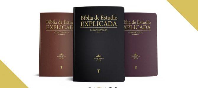 Biblia de Estudio Explicada, un excelente recurso para entender la Palabra de Dios de manera correcta, clara y sencilla