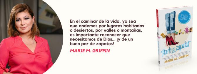 Marie M. Griffin presenta «Ponte en mis zapatos» en Books & Books Store