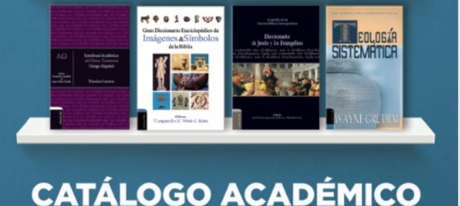 Harper Collins Christian Publishing presenta: Catálogo académico
