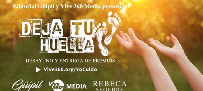 Vive 360 Media anuncia a los tres galardonados con el premio Deja Tu Huella
