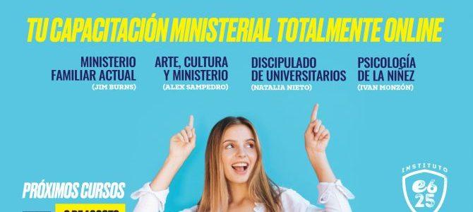 Actualización ministerial online para el ministerio con nuevas generaciones