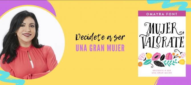 Omayra Font presenta su nuevo libro «Mujer, valórate»