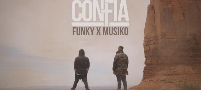 """Funky presenta """"Confía"""",  su nuevo sencillo y video oficial junto a Musiko"""