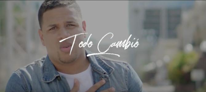 Joseph Burgos presenta su nueva canción y video oficial  «Todo Cambió»