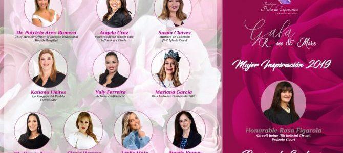 Fundación Perla de Esperanza realizará la gala «Roses & More» y celebrará la 5th entrega del premio Mujer Inspiración 2019