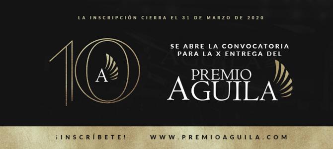 El Mensaje Comunicaciones abre convocatoria para el Premio Águila 2020