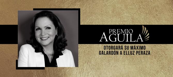 La actriz Elluz Peraza recibirá el máximo galardón en el Premio Águila